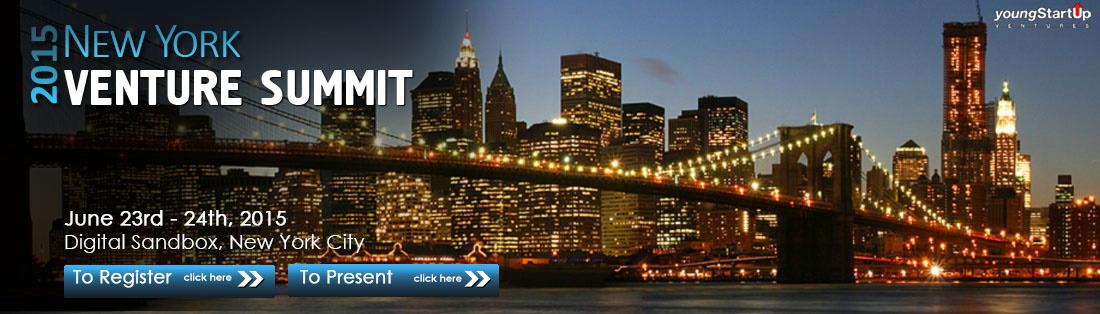 Vorstellung beim New York Venture Summit