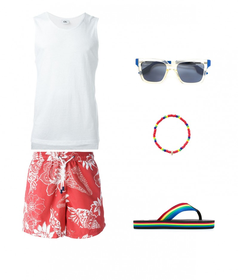 TROPICAL & COLOURFUL BEACHWEAR FOR RIO 2016!