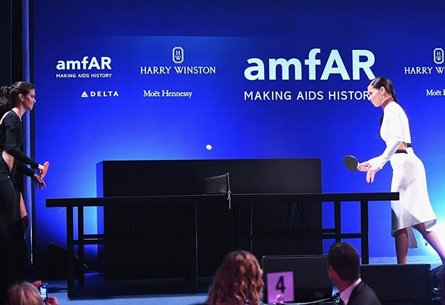 amfAr gala Milano 2016