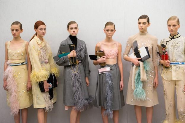 Dabei auf Milan Fashion Week