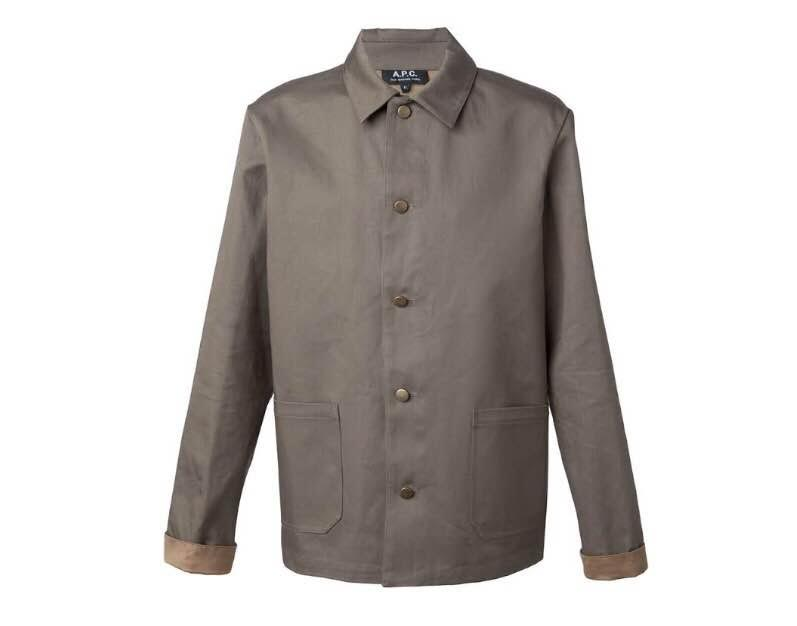 On EyeFitU A.P.C. lightweight jacket