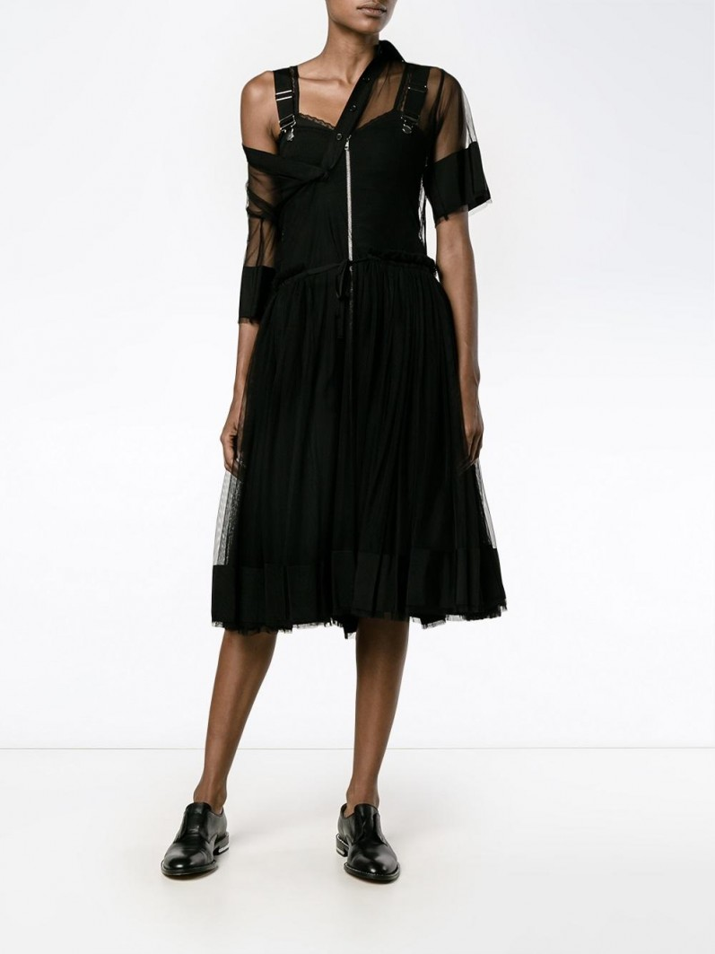 ADAM SELMAN sheer dress spring eyefitu