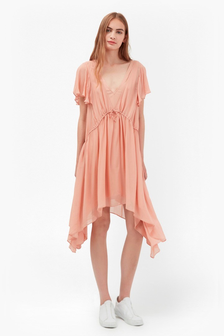 french connection drape tea dress eyefitu