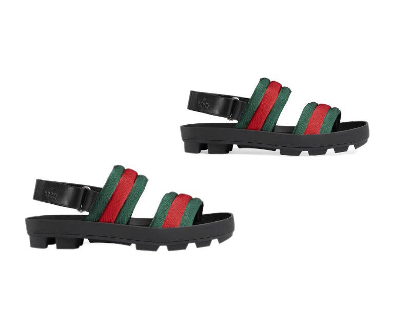 sport sandals gucci