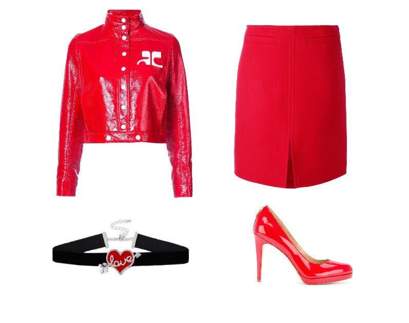 fab in red female look eyefitu