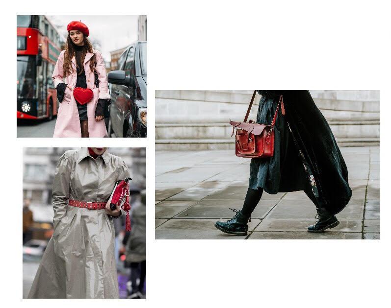 fashion week streets paris london