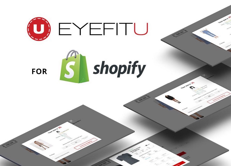 EyeFitU's Size Engine™ now available on Shopify App Store!
